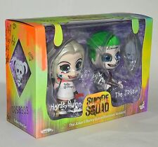 Hot Toys Cosbaby Suicide Squad Harley Quinn The Joker Set 2 Figure