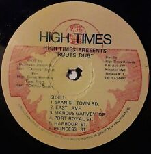 HIGH TIMES PLAYERS - ROOTS DUB VOLUME 1 LP