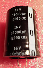 33000uf 16V Snap-In Capacitor - NOS