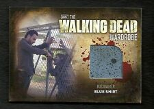 The Walking Dead Season 2 Wardrobe M33 BUS Walker Blue Shirt BINDER Exclusive