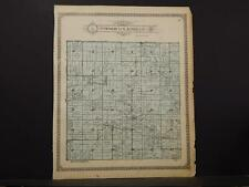 Missouri, Audrain County Map, Cuivre North & Cuivre South 1918 Dbl Side K11#07