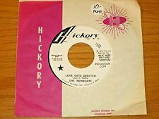 """PROMO 70s ROCK 45 RPM - THE NEWBEATS - HICKORY 1637 - """"LOVE GETS SWEETER"""""""