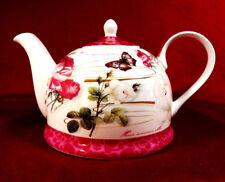 Kaffeekanne Teekanne Kanne Jameson&Tailor Diamant Porzellan Rosen