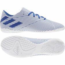 Adidas Fútbol Nemeziz 19.4 IN Botas de Fútbol para Hombre Azul Blanco