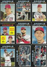 LOS ANGELES ANGELS - PICK YOUR MLB-LICENSED TOPPS/BOWMAN TEAM SET 2012-2020