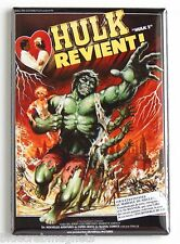 Bride of the Incredible Hulk (France) FRIDGE MAGNET (2 x 3 inches) movie poster
