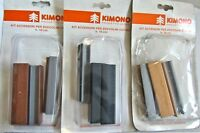 Kit Accessories Skirting Boards Cooking H.10 CM Beech Walnut Black - KIMONO New