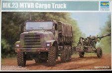 Trumpeter Mk.23 MTVR Cargo Truck - 01011  mit E.T. model Resin-Rädersatz - 1:35