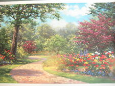 "Wendy & Kevin Schaefer-Miles, American ""Summer Enchantment"" Serigraph Print"
