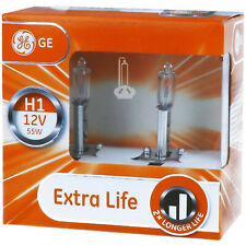 H1 GE Lighting Extra Life - Scheinwerfer Lampe - DUO-Box NEU