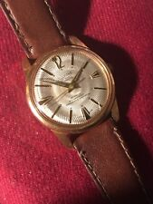 Vintage ALLAINE swiss Automatic Gents Watch 30 Jewels. Gold plated