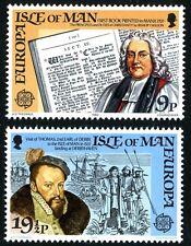 ISLE OF MAN MNH UMM STAMP SET 1982 EUROPA HISTORIC EVENTS SG 216-217