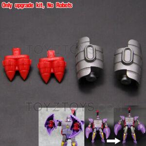 Leg Heightener + Missile Upgrade Kit for Kingdom Scorponok Thigh Increase Height