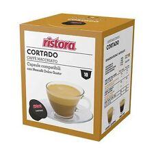 120 PODS CAPSULES COMPATIBLE DOLCE GUSTO RISTORA CORTADO COFFEE' MACCHIATO MILK