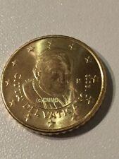 Original Vatikan 50 Cent 2013 - Papst Benedikt - bankfr. / unz.