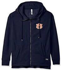 Under Armour UA Women's Auburn Football Full Zip Fleece Hood Jacket Small S