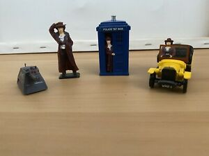 Dr Who Corgi Models 40th Anniversary Set - TARDIS, K-9, Doctor and Bessie