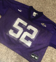 Ray Lewis Puma Practice Jersey Size L Baltimore Ravens - Rare!