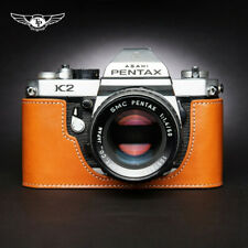 Half Case For Pentax K2 Real Leather Camera Retro Protective Cover TP Handmade
