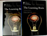 The Learning Brain, Volumes 1 & 2, The Great Courses, 12 Audio CDs, No Guidebook