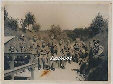 Foto-Soldaten vom Heer am Schiessstand  2.WK (i232)