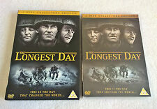 The Longest Day (DVD, 2004) 2 Disc Collector's Edition - Slipcover