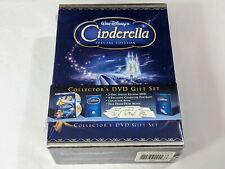Disney Cinderella Special Edition Collector's DVD Gift Set 2005 Rare BRAND NEW!