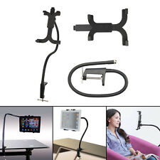 Gooseneck Arm 360 Bed Desk Lazy Stand Holder Mount For ipad Air iPhone white