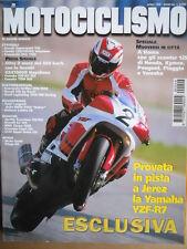 MOTOCICLISMO n°4 1999 Ducati Supersport 750 Honda CBR 1100 XX ZRX 1100 [P38]