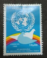Guine Bissau 1985 The 40th Anniversary If United Nations - 1v Used
