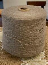 New ListingBeautiful Soft Cone Spool of Peruvian Fs Alpaca Merino Yarn Mix 2lb 1oz 935 gr