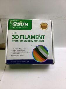 eSUN 3D Printer Filament 2.85 MM Peak Green 0.5 KG 205-225 Print Temp *NEW*