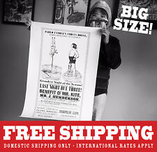 Mr. Kite Poster-Beatles-Sgt. Pepper LARGE SIZE - *FREE SHIPPING!