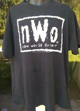 Vintage 1998 NWO New World Order WCW WWF No Mercy Tshirt (Mens Sz XL) Distressed