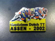 Pin Gauloises Dutch TT Assen 2002 (geel)