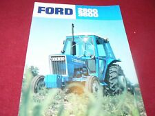 Ford 3600 2600 Tractor Dealer's Brochure