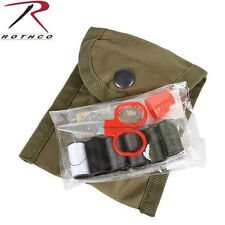 New Military GI Style Emergency Field Repair Sewing Kit w/ Olive Drab Pouch