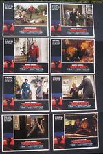 An Eye For An Eye ORIGINAL (8) 11 x 14 LOBBY CARD SET Chuck Norris1981 NM/M