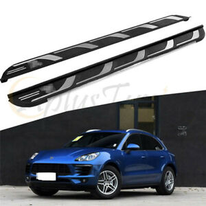 New Side Steps Fit For 2014-2019 Porsche Macan Running Board Nerf bar Platform