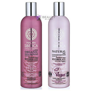 Natura Siberica COLOUR REVIVAL SHINE SHAMPOO and CONDITIONER for dyed hair