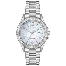 -NEW- Citizen Ladies Elektra Eco-Drive Watch EW2510-50D