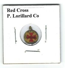 Red Cross Chewing Tobacco Tag P. Lorillard R302