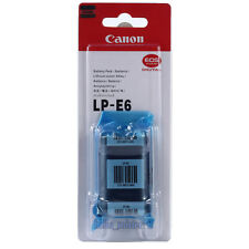 Genuine Original Canon  LP-E6 Battery for EOS 60D 70D 80D 5DSR 5D2 5D3 Mark IV
