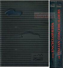 COACHBUILDERS ITALIAN ENCYCLOPEDIA BOOK SANNIA