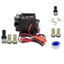 12V 24V Pompe de transfert diesel à mazout lourd 70 L/min Continu évalué