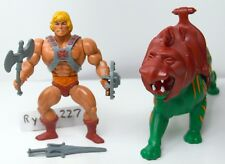 MOTU, Commemorative Battle Cat & He-Man, 2 pack, complete, figure set, lot
