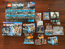 Lego Dimensions PS4 Lot Game Portal Disc Minifigures Vehicle Team Pack Sealed