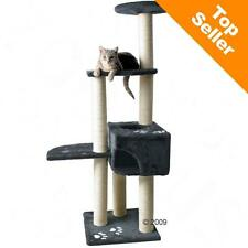 Cat Tree SISAL Covered Posts Scratching Climbing Jumping ACTIVITY Pet Fun Play
