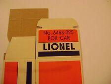 Lionel 6464-325 Baltimore & Ohio Sentinel Box Car Licensed Reproduction Box
