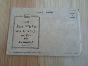 "ARUNDEL Series ""A"" - Retro Vintage Letter Card §D1060"